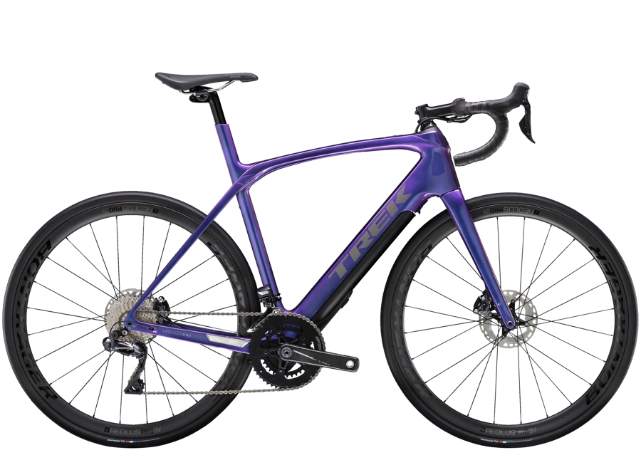 Trek Domane+ LT 7 58 Gloss Purple Flip